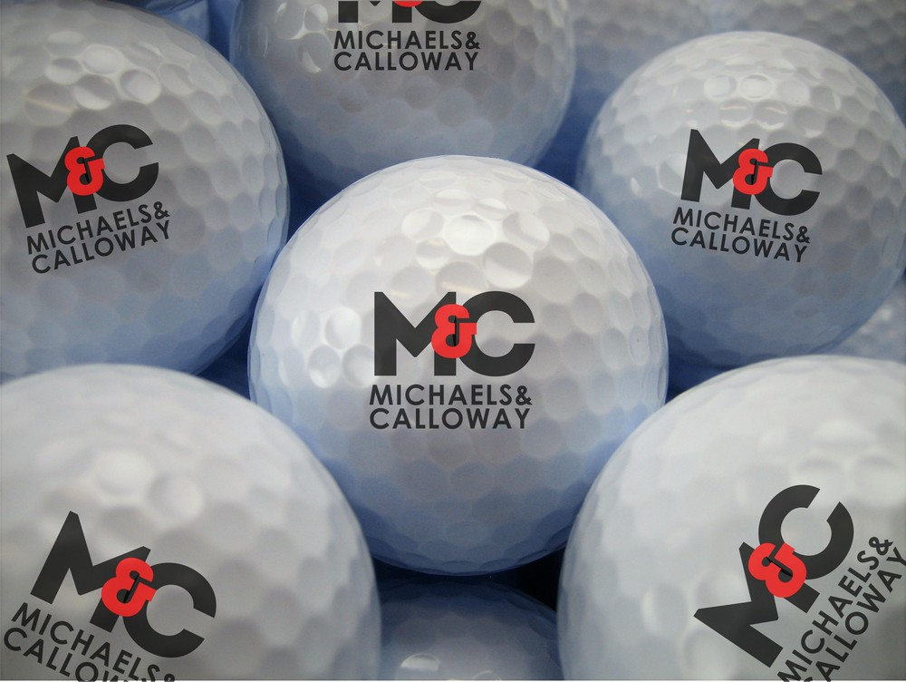Custom Printed Logo Golf Balls